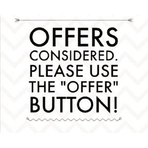 Please use Offer button